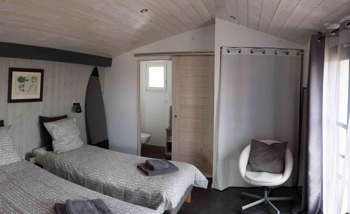 Chambres d'hôtes ile de Ré - chambre double