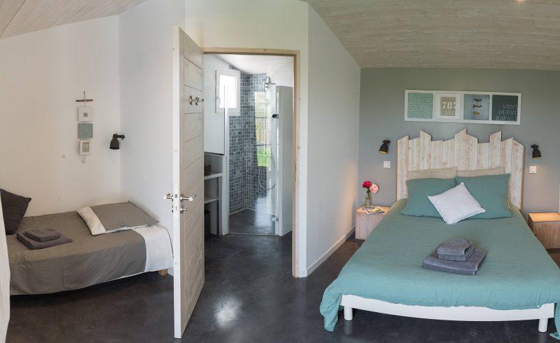 Chambres d'hôtes Les Petites Terres Ile de Ré - chambre triple