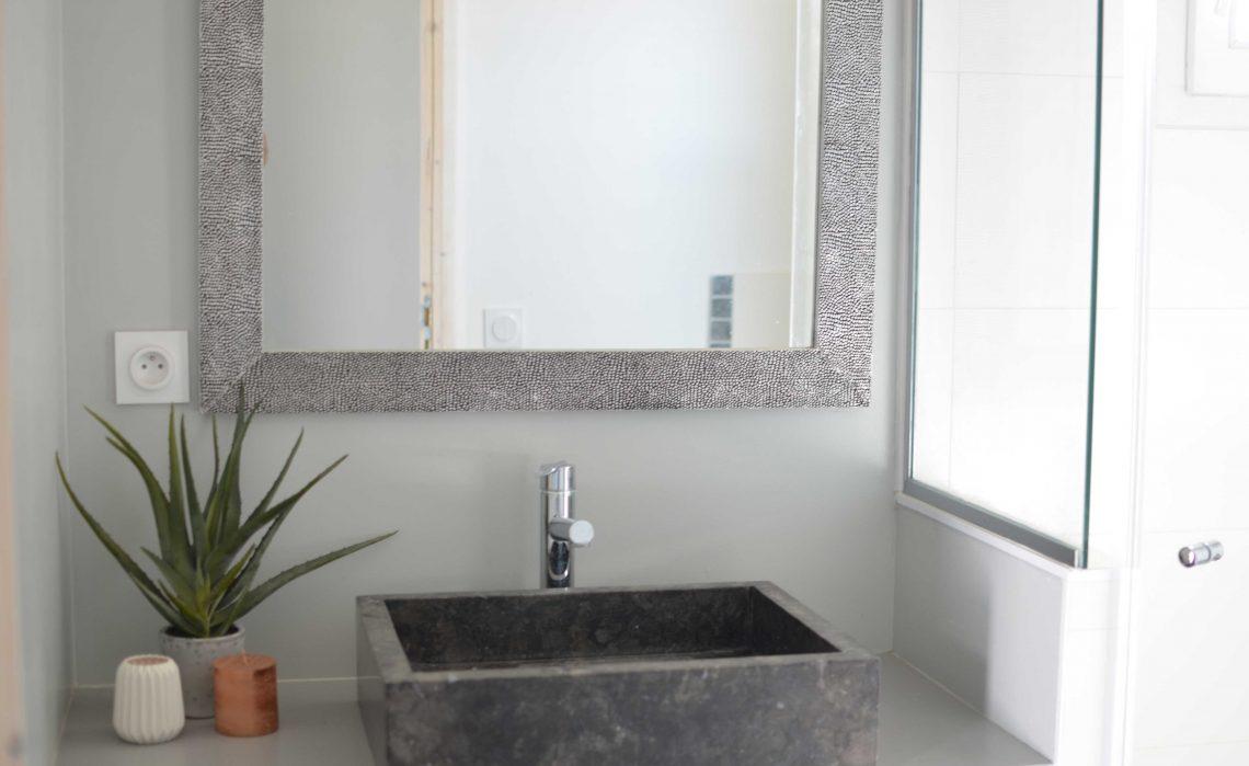 Chambres d'hôtes Les Petites Terres Ile de Ré - Salle d'eau chambre triple
