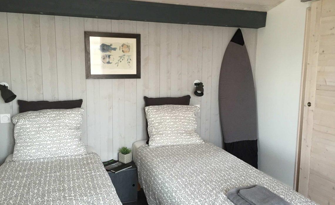 Chambres d'hôtes ile de Ré- Les Petites Terres - chambre double, accès indépendant, pièce de vie et terrasse commune
